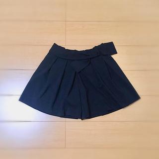 バビロン(BABYLONE)のsaloon ほぼ新品 人気完売 リボン付きキュロットスカート パンツ (416(キュロット)