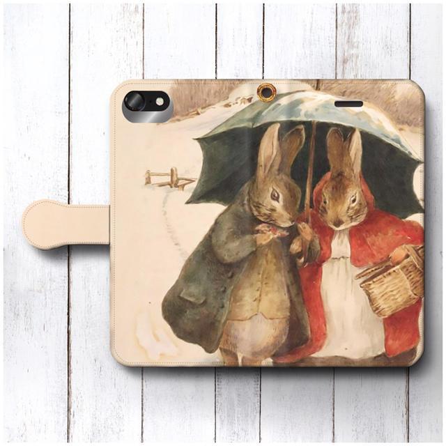 スマートフォン カバー 自作 、 ピーターラビット スマホケース手帳型 全機種対応型 レトロの通販 by NatureMate's shop|ラクマ