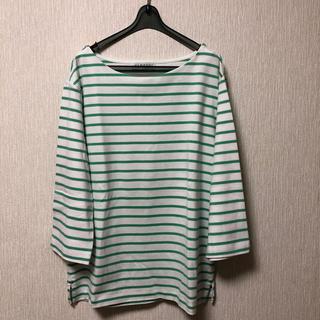 シマムラ(しまむら)の未使用  しまむら  クロッシー  ボーダー カットソー(Tシャツ(長袖/七分))