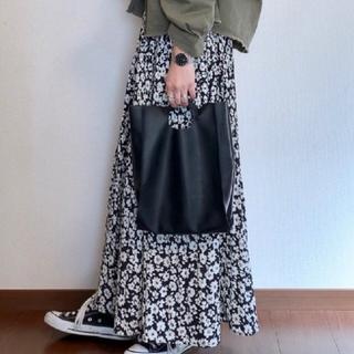 シマムラ(しまむら)の花柄プリーツスカート(ロングスカート)