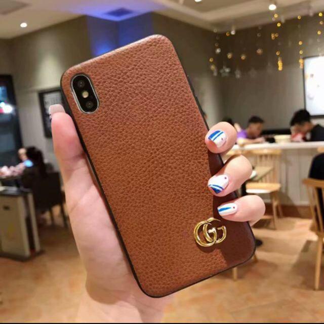 Gucci - GUCCI グッチ iPhone X スマホケースの通販 by フラワー🌻|グッチならラクマ