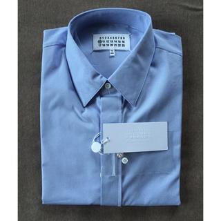 マルタンマルジェラ(Maison Martin Margiela)の41 新品56%off マルジェラ ドレスシャツ スカイブルー 17SS(シャツ)