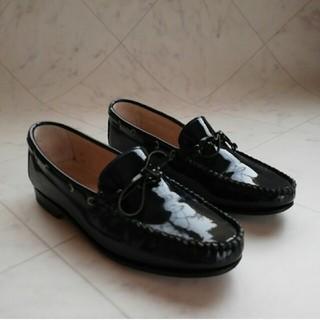 ダイアナ(DIANA)の美品!!DIANA ダイアナ イタリア製 本革エナメルローファー 36 23cm(ローファー/革靴)