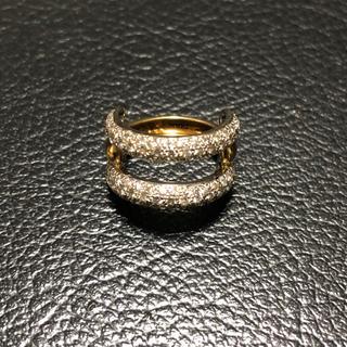 K18ダイアモンドリング 豪華1.0ct(リング(指輪))