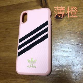 アディダス(adidas)の●新作●【iPhone XR】adidasスポーティケース(iPhoneケース)