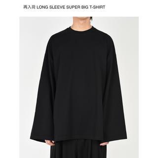 ラッドミュージシャン(LAD MUSICIAN)のLONG SLEEVE SUPER BIG T-SHIRT(Tシャツ/カットソー(七分/長袖))