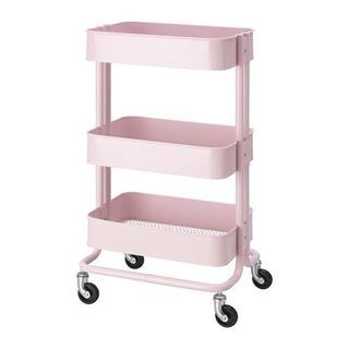 イケア(IKEA)の【新品・送料込】IKEA RASKOG ワゴン,ライトピンク(キッチン収納)