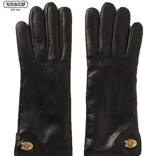 573006bb56a7 コーチ(COACH)の【COACH☆32955】コーチ百貨店モデル♪レディースレザー. 手袋