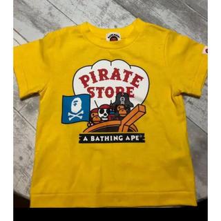 アベイシングエイプ(A BATHING APE)のTシャツ(Tシャツ/カットソー)