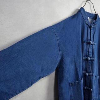 アンダーカバー(UNDERCOVER)のチャイナボタンコート(Gジャン/デニムジャケット)