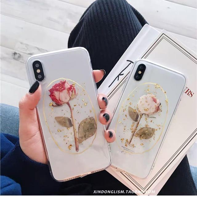 Kastane - ハンドメイドiPhone ケース ドライフラワー バラの通販 by asumi's shop|カスタネならラクマ