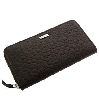カルバンクライン(Calvin Klein)のカルバンクライン 長財布 メンズ 74287-BR ブラウン ブラウン 送料無料(長財布)