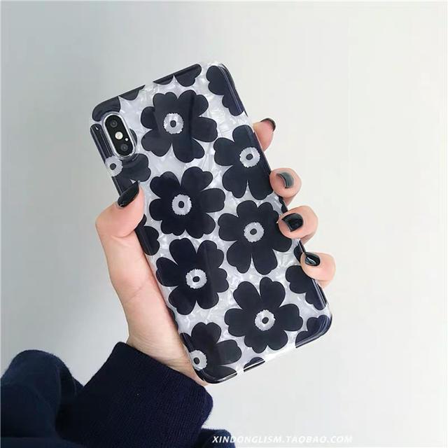 Kastane - 2#花柄 iPhoneケース タグ借りの通販 by asumi's shop|カスタネならラクマ