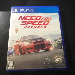 プレイステーション4(PlayStation4)のNEED FOR SPEED PAYBACK(携帯用ゲームソフト)