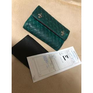 クロムハーツ(Chrome Hearts)のクロムハーツ財布 限定カラーキルティングウォレット(財布)