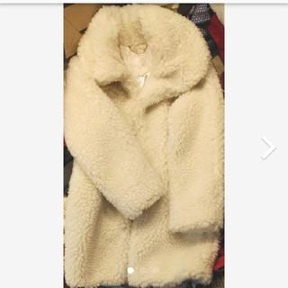 リズリサ(LIZ LISA)の新品LIZ LISAモコモココート(毛皮/ファーコート)