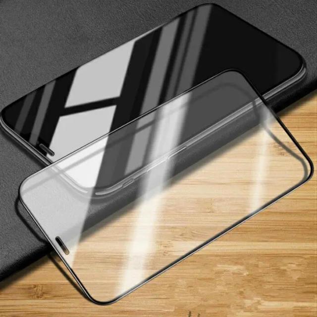 iPhone XR 強化ガラスフィルム の通販 by iAQ |ラクマ