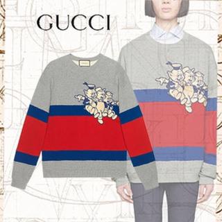 グッチ(Gucci)のGUCCI スウェット トレーナー 3匹の子ぶた Disney コラボ 新作(スウェット)