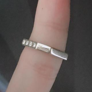 グッチ(Gucci)のグッチ オクタゴナル  6Pダイヤ(リング(指輪))