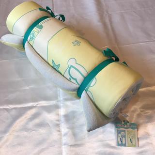 ◆新品タグ付き◆接触冷感丸巻きお昼寝マット◆リバーシブル(ベビー布団)
