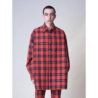 ラフシモンズ(RAF SIMONS)のRAF SIMONS Denim easy fit shirt(Gジャン/デニムジャケット)