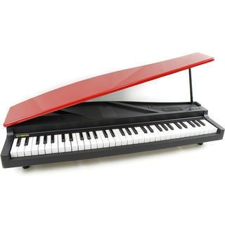 コルグ(KORG)のKORG MICROPIANO マイクロピアノ ミニ鍵盤61鍵 レッド 新品(電子ピアノ)