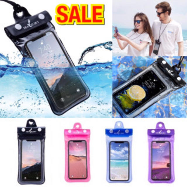 iphoneカバー おもしろ - ☆新品☆おすすめ☆スマホ防水ケース iPhone ブラック 海 おしゃれ プールの通販 by kazu's shop|ラクマ
