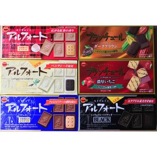ブルボン(ブルボン)のアルフォート、ブランチュール計6箱(菓子/デザート)