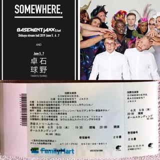《BASEMENT JAXX (DJ set》2019/06/05(水) 渋谷 (クラブミュージック)