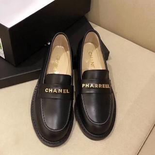 シャネル(CHANEL)のChanel Pharrell フラット パンプス バレエシューズ(ローファー/革靴)