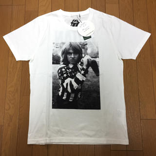 ジィヒステリックトリプルエックス(Thee Hysteric XXX)のThee Hysteric XXX Tシャツ BRIAN 白 M ヒステリック(Tシャツ/カットソー(半袖/袖なし))