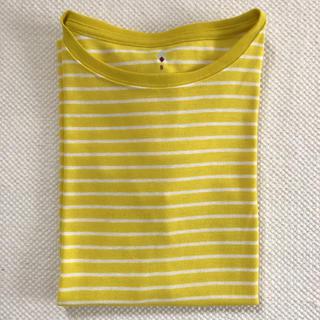 モンベル(mont bell)のモンベル・montbell ★美品★ボーダーTシャツ★速乾・消臭・登山(Tシャツ(半袖/袖なし))