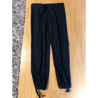 プーマ(PUMA)のさらに値下げ!  PUMA 綿パンツ  たぶん未使用  メンズL  黒(ワークパンツ/カーゴパンツ)