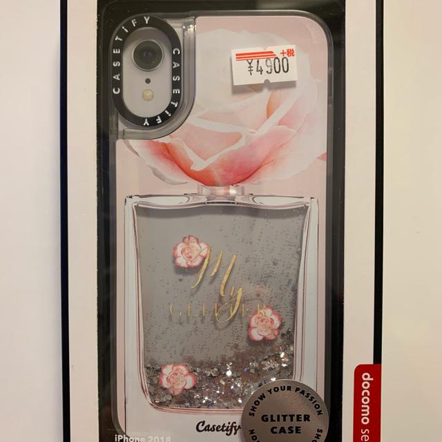 りぴはる様専用!新品・CASETIFY EAU DE・iPhone XRケースの通販 by わかばん's shop|ラクマ