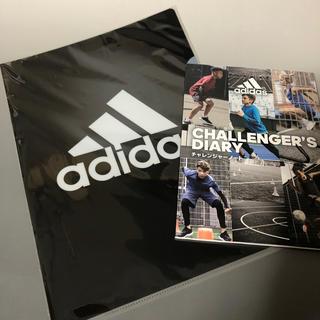 アディダス(adidas)の新品  アディダス クリアファイル&ノート(ノベルティグッズ)