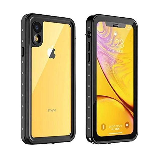 iphone8 プラス ケース 衝撃 - iPhone XR ケース 防水 耐衝撃 6.1インチ対応 360°全方向保護 の通販 by mokanji's shop|ラクマ