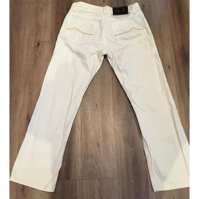 JACOB COHEN(ヤコブコーエン)のJACOB COHEN(ヤコブ コーエン)白パンツ メンズのパンツ(チノパン)の商品写真