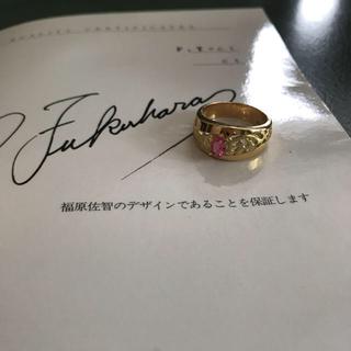 ショパール(Chopard)のお値下げ  福原佐智  k18  ルビー リング(リング(指輪))