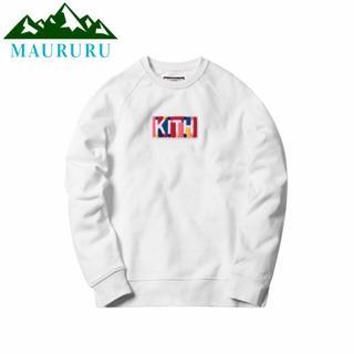 正規品 KITH キス カラーボックスロゴ クルーネック スウェットシャツ(スウェット)