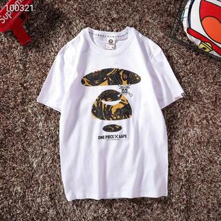 アベイシングエイプ(A BATHING APE)のAAPE X ONE PIECE  tシャツ(Tシャツ/カットソー(半袖/袖なし))