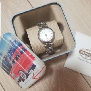 フォッシル(FOSSIL)のFOSSIL フォッシル シルバー 腕時計(腕時計(アナログ))