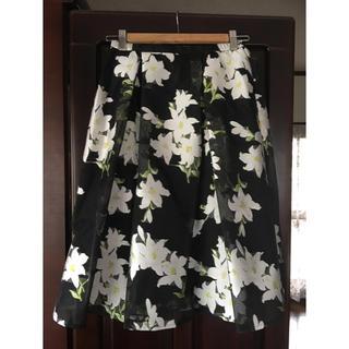ワールドベーシック(WORLD BASIC)のスカート(ひざ丈スカート)