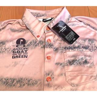 オークリー(Oakley)の新品 オークリーゴルフ   メンズLサイズ(ポロシャツ)