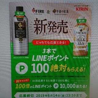 LINEポイント キャンペーンシール 24枚 LINE 800ポイント(その他)
