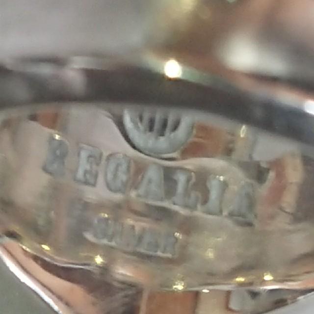 値下げREGALIA レガリア  リング メンズのアクセサリー(リング(指輪))の商品写真