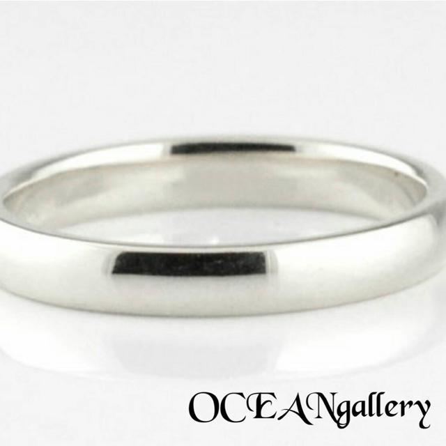 送料無料 24号 シルバーサージカルステンレススーパーCZシンプル甲丸リング指輪 メンズのアクセサリー(リング(指輪))の商品写真