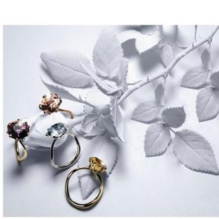 クリスチャンディオール(Christian Dior)の約53万 Dior oui K18WG アクアマリン リング ファインジュエリー(リング(指輪))