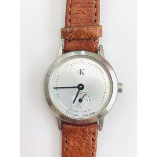シーケーカルバンクライン(ck Calvin Klein)の59 CK カルバンクライン レディース腕時計 シルバー文字盤(腕時計)