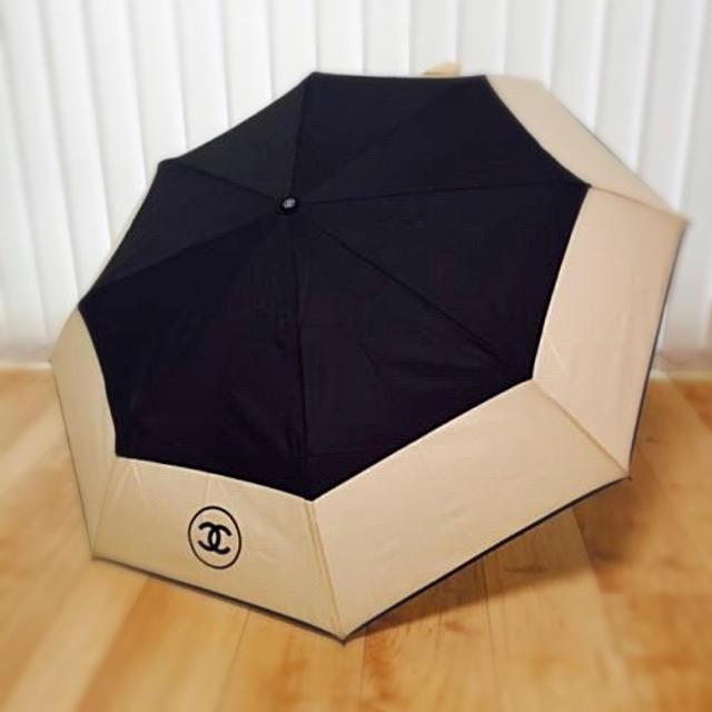 ffd8ad50343f CHANEL(シャネル)のCHANEL 晴雨兼用傘 日傘 雨傘 自動開閉 アウトレット レディースの
