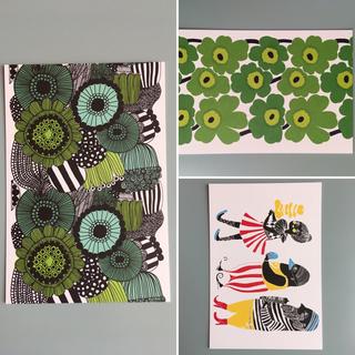 マリメッコ(marimekko)のマリメッコ ポストカード ハガキ 3枚セット (その他)